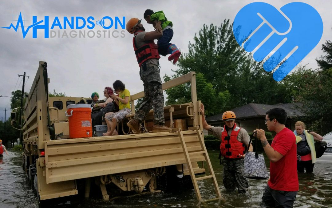 Physical Therapy Group Donates for Hurricane Harvey Relief Effort