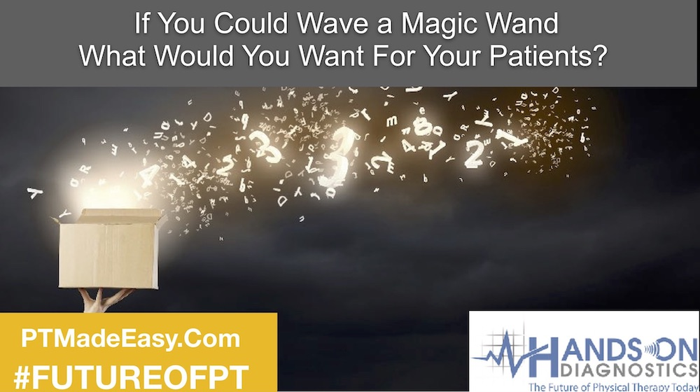 If You Could Wave a Magic Wand What Would YOU Want for Your Patients?