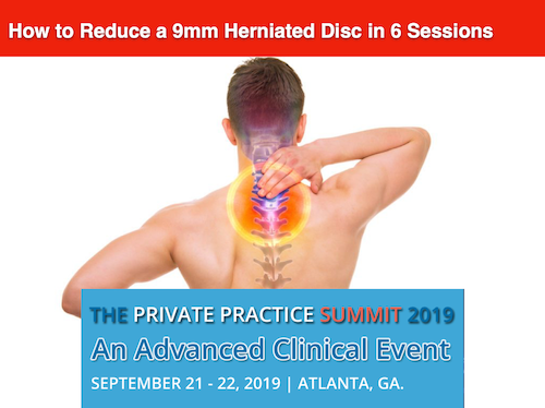 How to Reduce a 9mm Herniated Disc in 6 Sessions