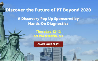 NY POP UP EVENT – DISCOVER THE FUTURE OF PT